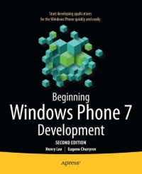 Beginning Windows Phone 7 Development, 2nd Edition
