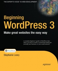 Beginning WordPress 3 Free Ebook