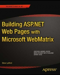Building ASP.NET Web Pages with Microsoft WebMatrix Free Ebook