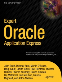 Expert Oracle Application Express Free Ebook