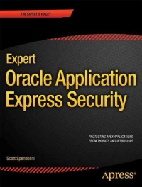 Expert Oracle Application Express Security Free Ebook