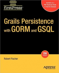 Grails Persistence with GORM and GSQL Free Ebook
