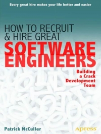 How to Recruit and Hire Great Software Engineers Free Ebook