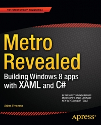 Metro Revealed: Building Windows 8 apps with XAML and C#