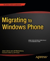 Migrating to Windows Phone Free Ebook