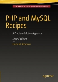 PHP and MySQL Recipes, 2nd Edition