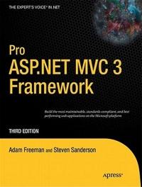 Pro ASP.Net MVC 3 Framework Free Ebook
