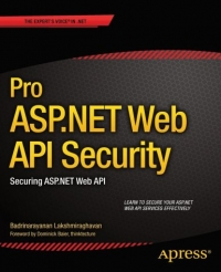 Pro ASP.NET Web API Security Free Ebook