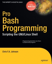 Pro Bash Programming Free Ebook
