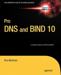 Pro DNS and BIND 10 Free Ebook