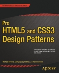 Pro HTML5 and CSS3 Design Patterns Free Ebook