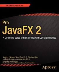 Pro JavaFX 2 Free Ebook