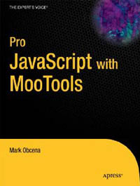 Pro JavaScript with MooTools Free Ebook