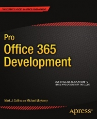 Pro Office 365 Development Free Ebook