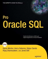 Pro Oracle SQL Free Ebook