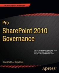 Pro SharePoint 2010 Governance Free Ebook
