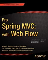 Pro Spring MVC with Web Flow