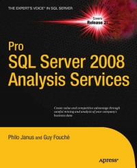 Pro SQL Server 2008 Analysis Services Free Ebook