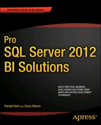 Pro SQL Server 2012 BI Solutions Free Ebook
