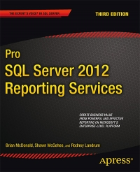 Pro SQL Server 2012 Reporting Services, 3rd Edition Free Ebook