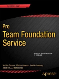 Pro Team Foundation Service Free Ebook