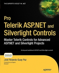Pro Telerik ASP.NET and Silverlight Controls Free Ebook