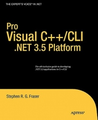 Pro Visual C++/CLI and the .NET 3.5 Platform Free Ebook