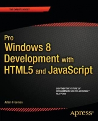 Pro Windows 8 Development with HTML5 and JavaScript Free Ebook