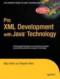 Pro XML Development with Java Technology Free Ebook