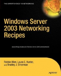 Windows Server 2003 Networking Recipes Free Ebook