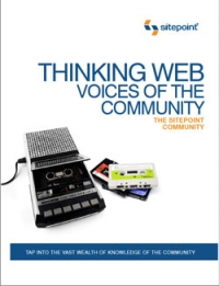 Thinking Web: Voices of the Community Free Ebook