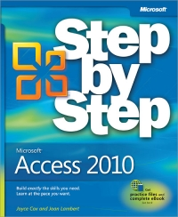 Microsoft Access 2010 Step by Step Free Ebook