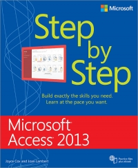 Microsoft Access 2013 Step By Step Free Ebook