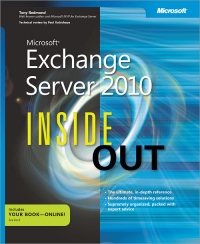 Microsoft Exchange Server 2010 Inside Out Free Ebook