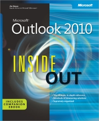 Microsoft Outlook 2010 Inside Out Free Ebook