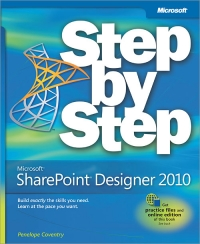 Microsoft SharePoint Designer 2010 Step by Step Free Ebook
