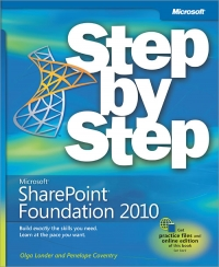 Microsoft SharePoint Foundation 2010 Step by Step Free Ebook