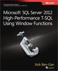 Microsoft SQL Server 2012 High-Performance T-SQL Using Window Functions Free Ebook