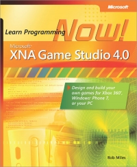 Microsoft XNA Game Studio 4.0: Learn Programming Now! Free Ebook