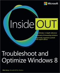 Troubleshoot and Optimize Windows 8 Inside Out Free Ebook
