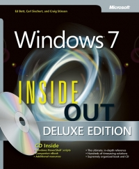 Windows 7 Inside Out, Deluxe Edition Free Ebook
