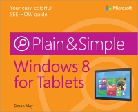 Windows 8 for Tablets Plain & Simple Free Ebook