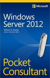 Windows Server 2012 Pocket Consultant Free Ebook