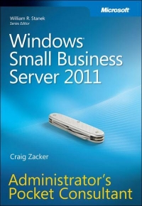 Windows Small Business Server 2011 Free Ebook