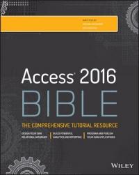 La Biblia de Access 2016