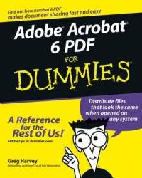 Adobe Acrobat 6 PDF For Dummies Free Ebook