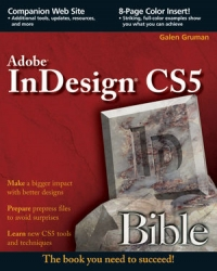 Adobe InDesign CS5 Bible Free Ebook