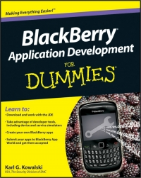 BlackBerry Application Development For Dummies Free Ebook