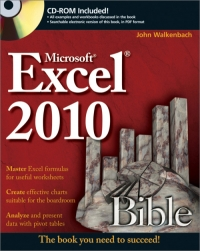 Excel 2010 Bible Free Ebook