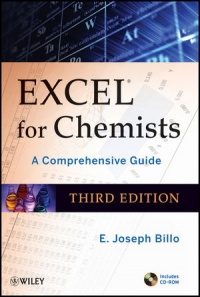 Excel for Chemists, 3rd Edition